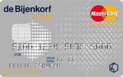 Bijenkorf Silver Card