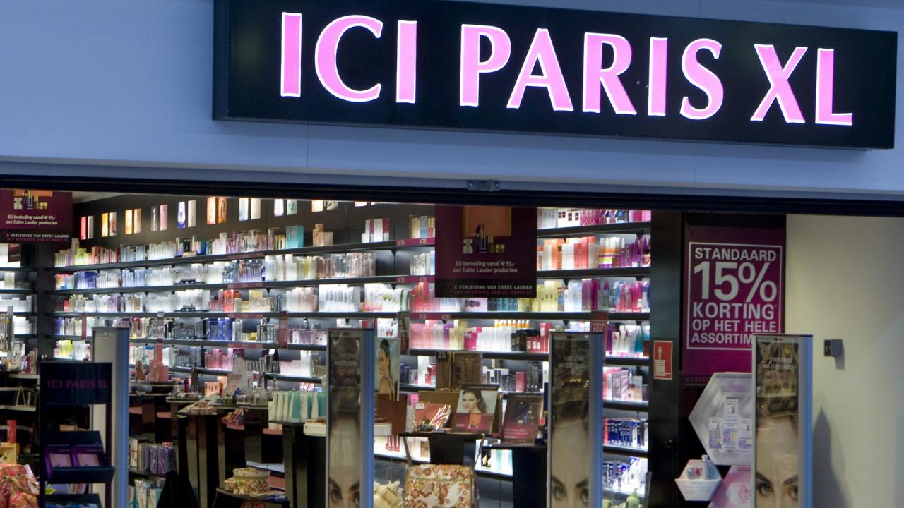 ICI Paris accepteert American Express creditcards1