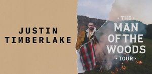 Justin Timberlake Man of the Woods tour Ticketmaster tickets via American Express1