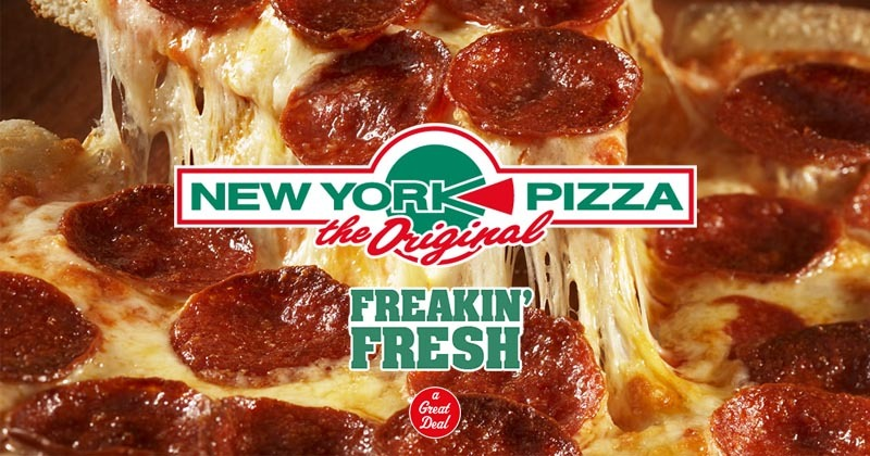 New York Pizza accepteert American Express creditcards2