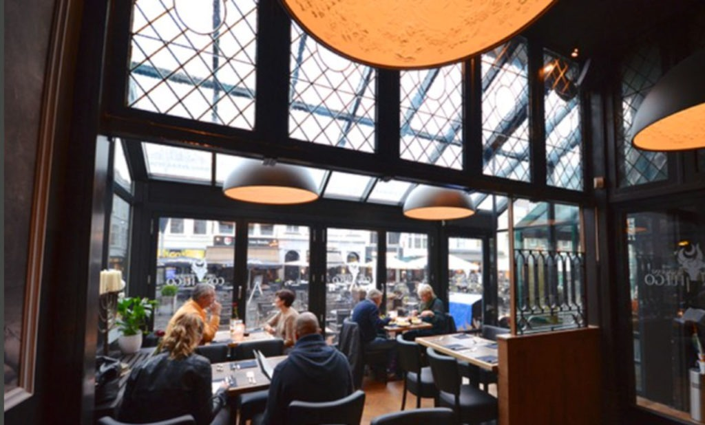 Restaurant Con Fuego accepteert American Express Creditcards1