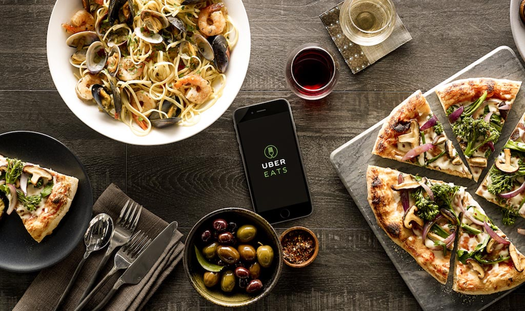 Uber Eats accepteert American Express Creditcards1