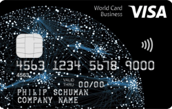 Visa World Card Business aanvragen