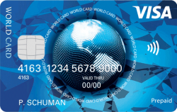 Prepaid Visa World Card aanvragen