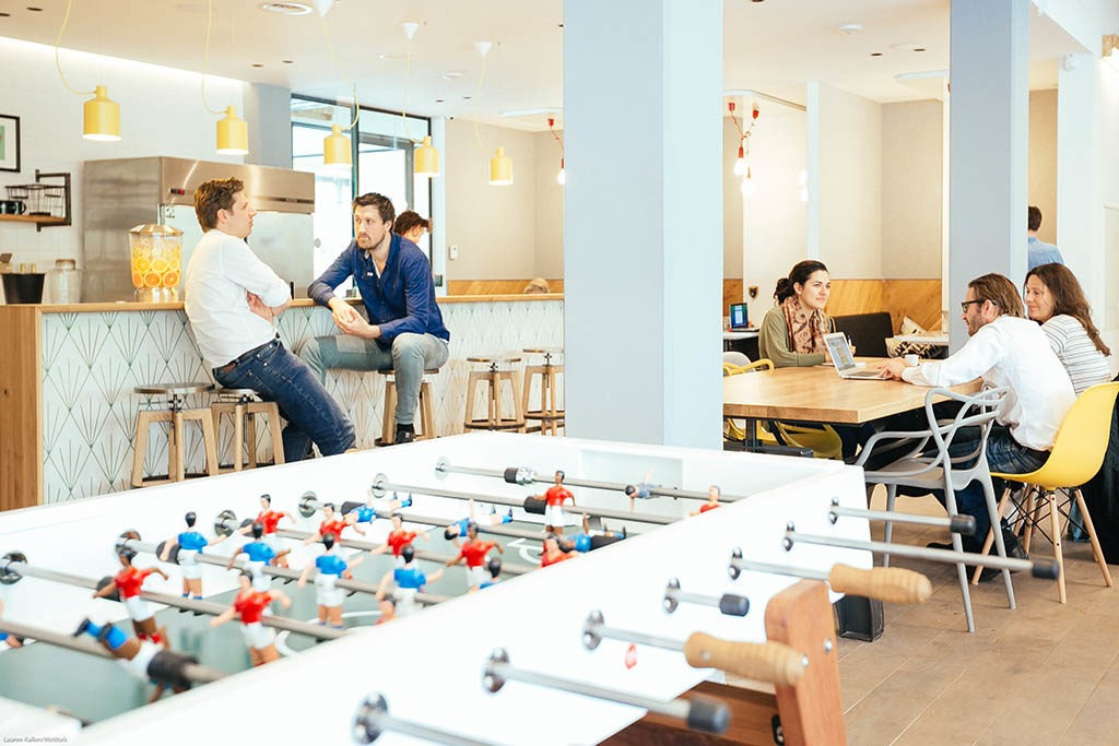 WeWork Coworking Office Spaces Amsterdam accepteert American Express Creditcards3