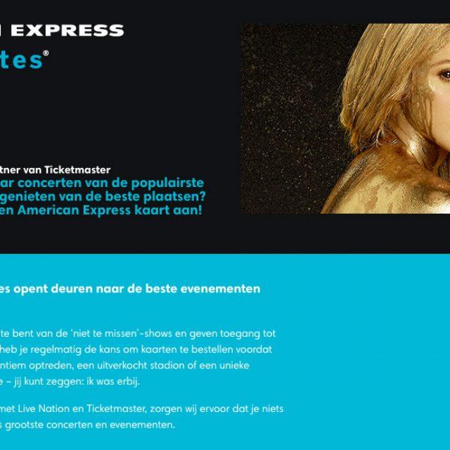 Shakira presale Ticketmaster tickets via American Express