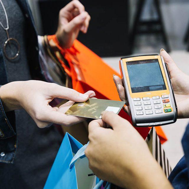 Toeslag op creditcard