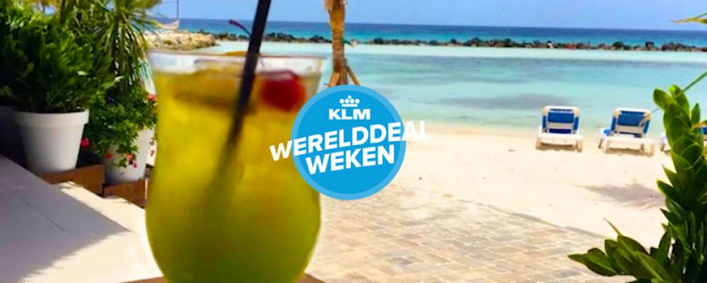 Wanneer zijn de KLM Werelddeal weken?