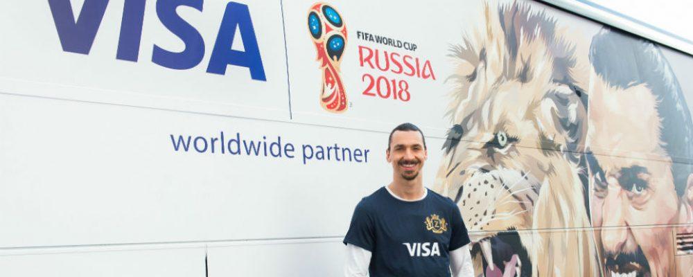 Visa exclusieve betaalmiddel bij WK voetbal in Rusland