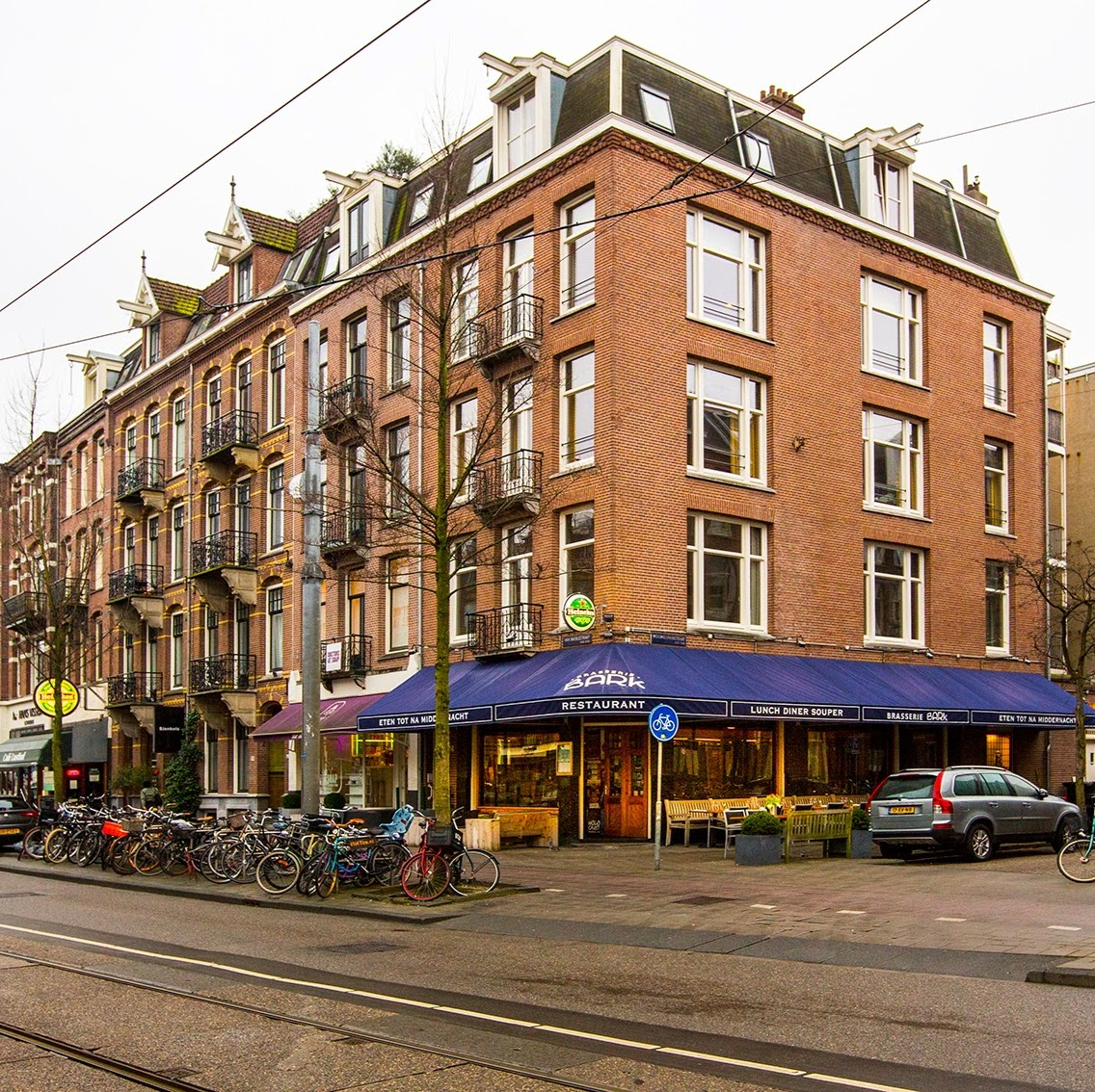Bark Brasserie Amsterdam accepteert American Express Credit Cards