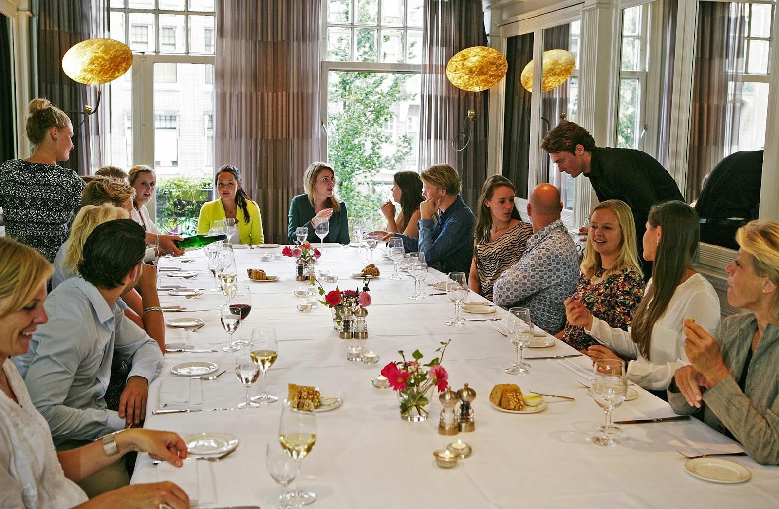 Brasserie Van Baerle Amsterdam accepteert American Express Credit Cards