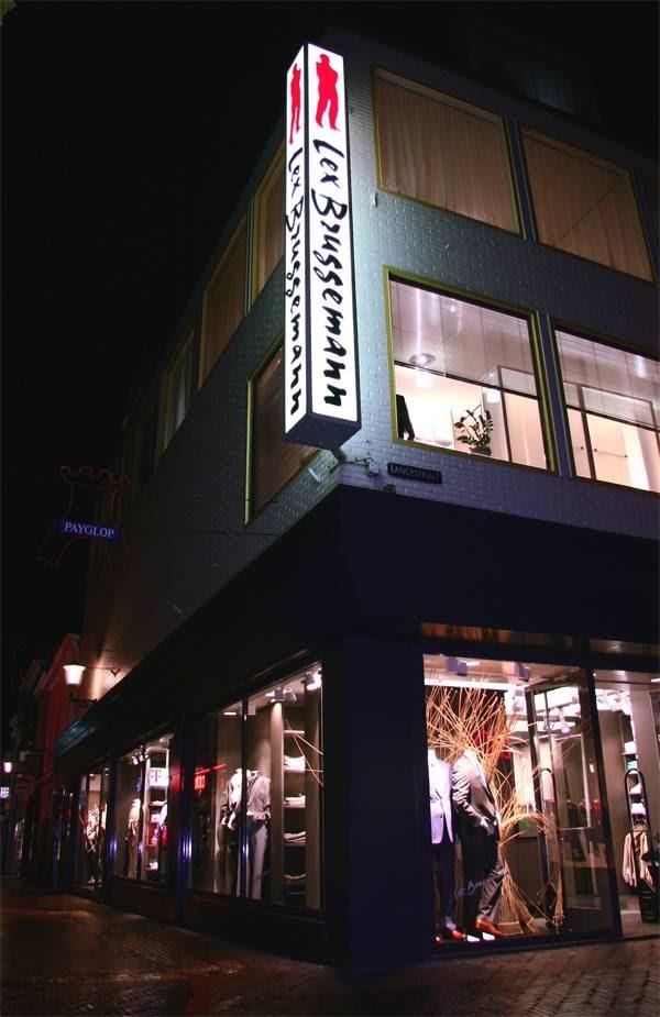 Bruggeman Herenmode Amsterdam accepteert American Express Credit Cards