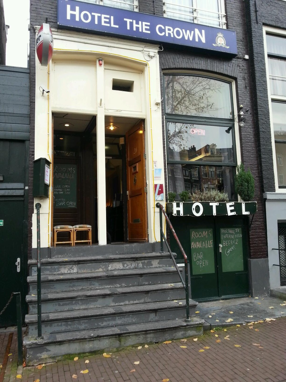 Canal Crown Hotel Amsterdam accepteert American Express Credit Cards