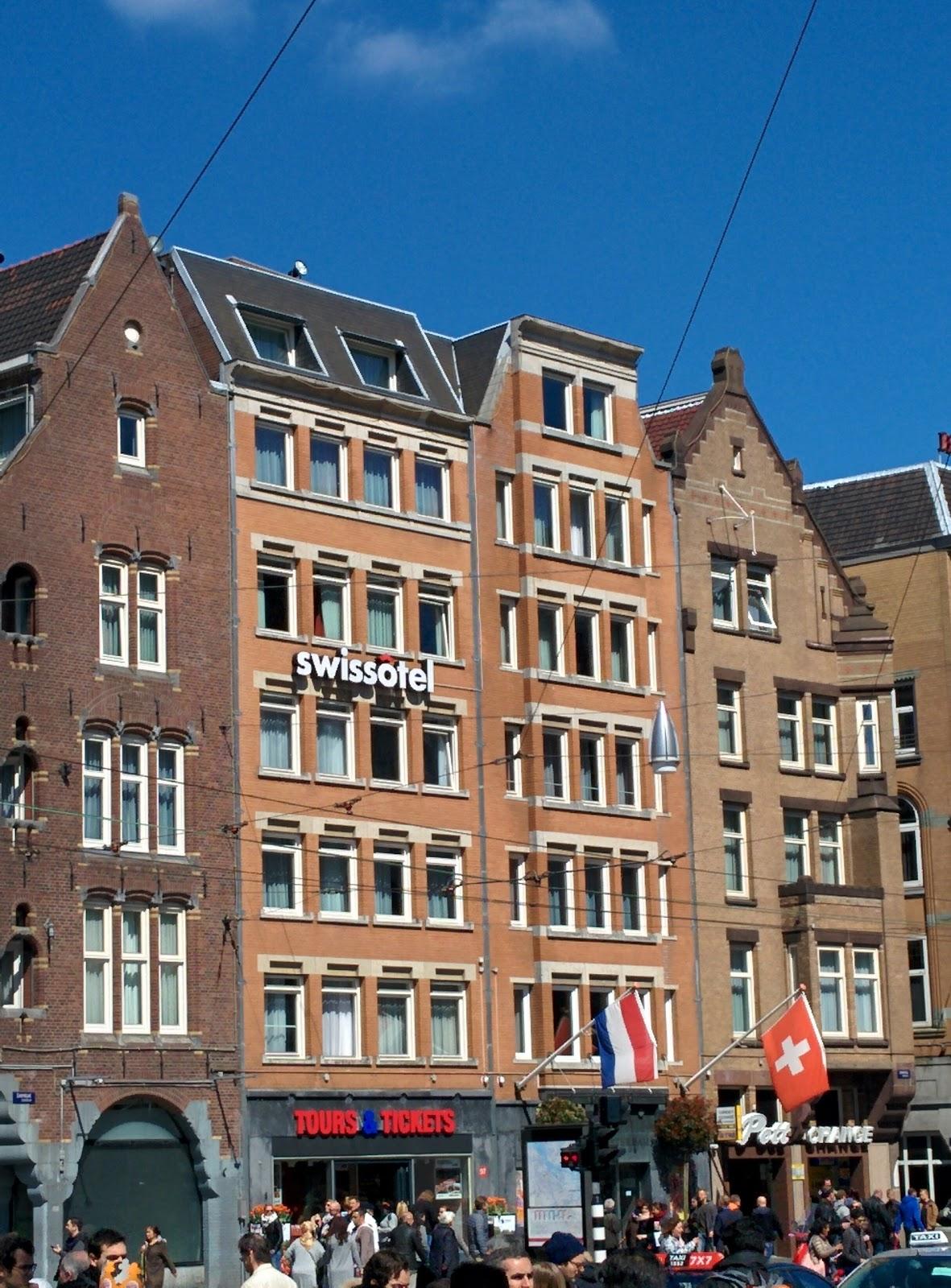 De Roode Leeuw Amsterdam accepteert American Express Credit Cards