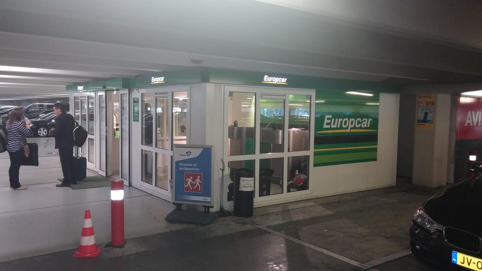 Europcar Wereldwijd accepteert American Express Credit Cards
