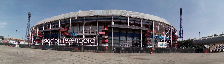 Feyenoord Ticketing Rotterdam Nederland accepteert American Express Credit Cards