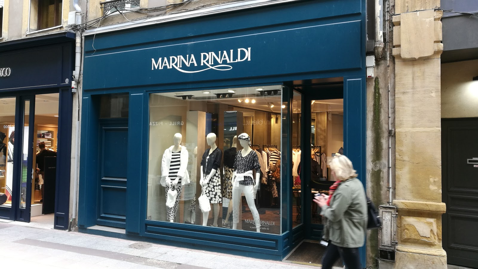 Marina Rinaldi by Metz & Co Amsterdam accepteert American Express Credit Cards