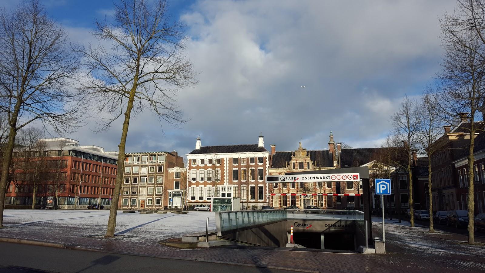 Q Park Ossenmarkt Groningen accepteert American Express Credit Cards