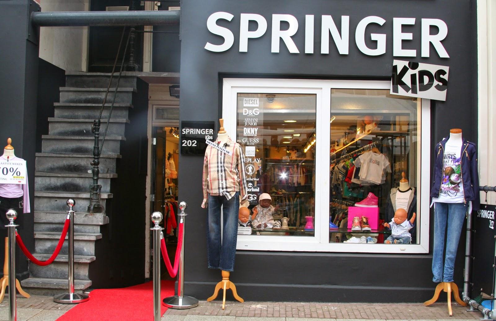 Springertje Kidswear & Shoes Amsterdam accepteert American Express Credit Cards