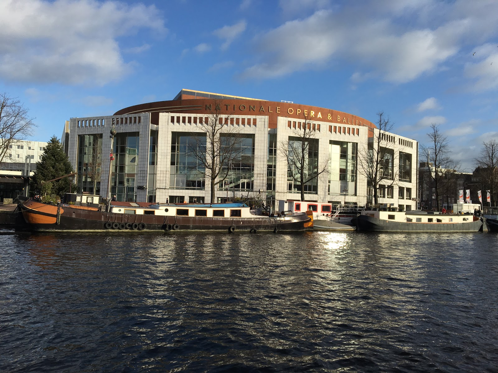 Stopera Stadhuis Amsterdam accepteert American Express Credit Cards