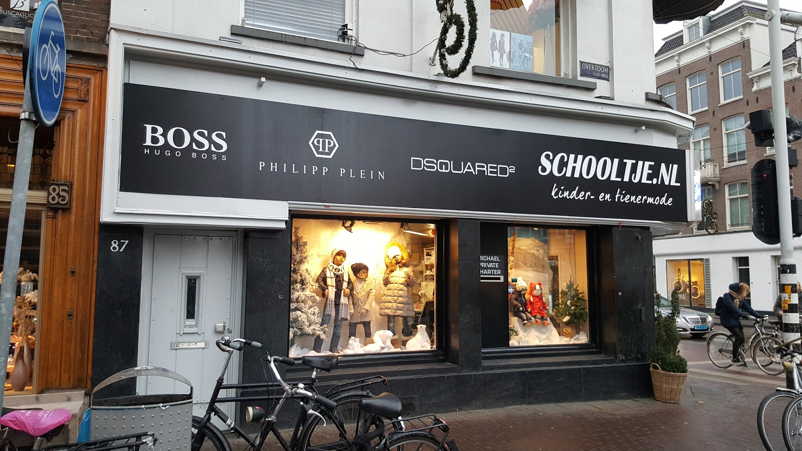 t Schooltje Amsterdam accepteert American Express Credit Cards